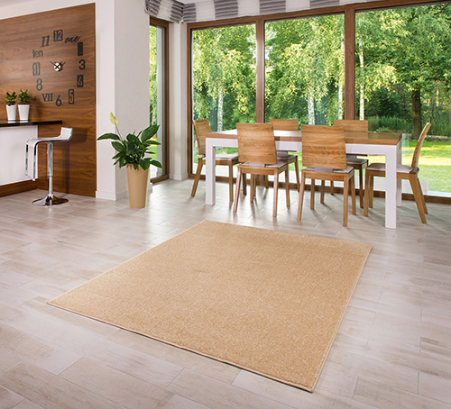 teppich kurzflor 2900g m einfarbig violett beige braun. Black Bedroom Furniture Sets. Home Design Ideas