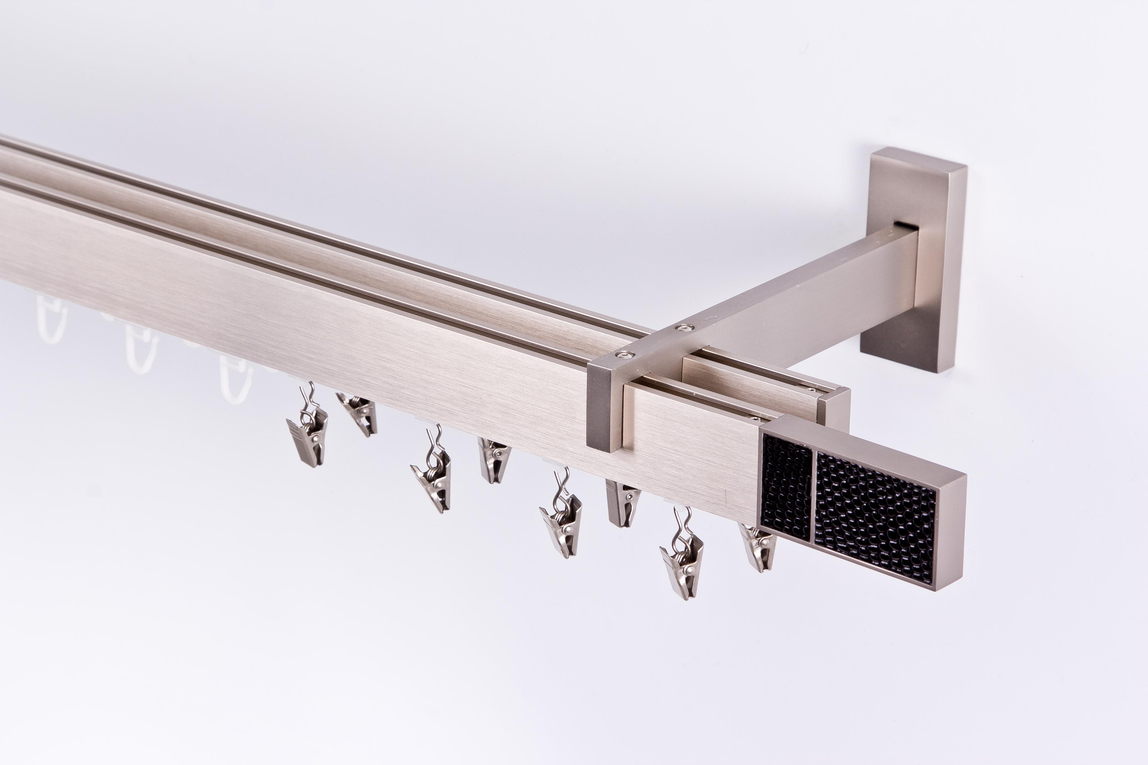 innenlauf gardinenstange 34 12mm 2 lauf wand decken. Black Bedroom Furniture Sets. Home Design Ideas