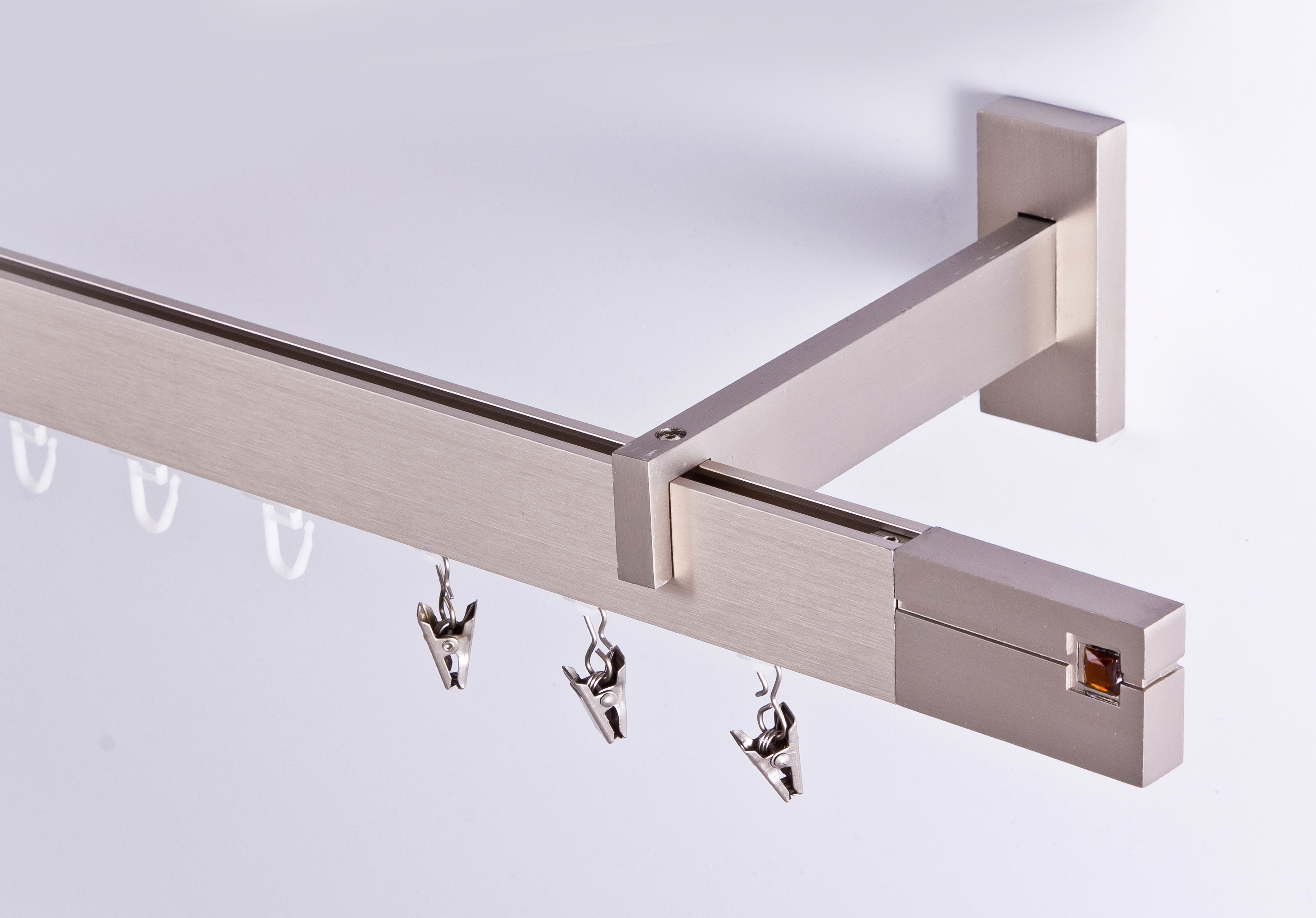 gardinenstange innenlauf 34 12mm 1 lauf decken. Black Bedroom Furniture Sets. Home Design Ideas